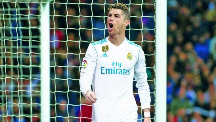 Cristiano Ronaldo está imparable y sigue guiando al Madrid