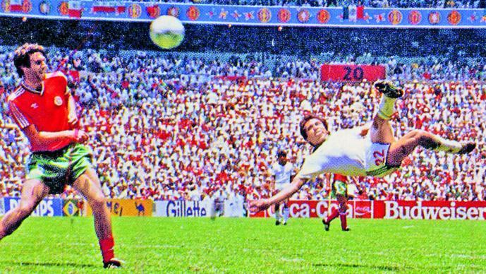 Manuel Negrete y los goles más hermosos de México en los mundiales