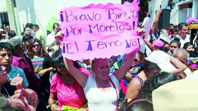 Cuauhtémoc Blanco lidera preferencias para gubernatura de Morelos: encuesta El Universal