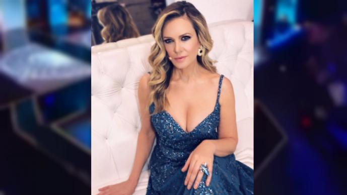 Rebecca de Alba y su fuerte caída en Mexicana Universal