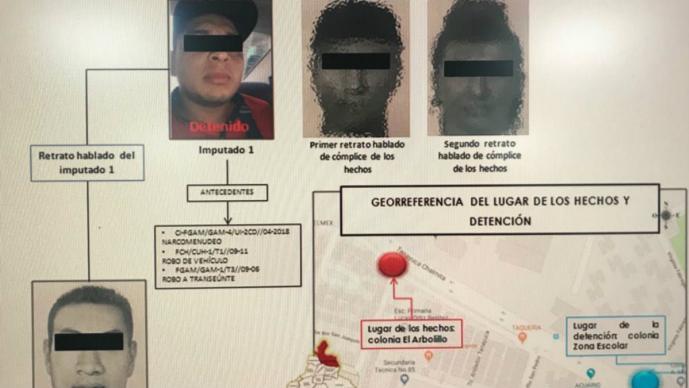 Detienen a señalado en el asesinato de estudiantes de la UACM