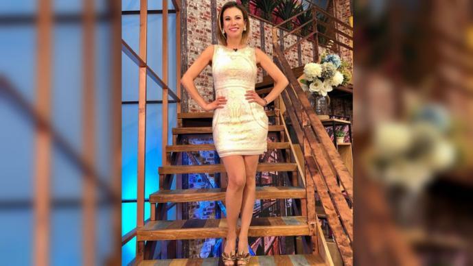 Ingrid Coronado es criticada por su delgadez