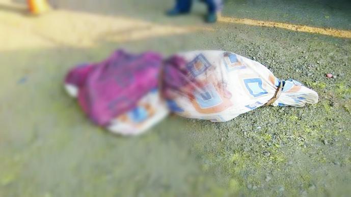 Cadáver encobijado en Tejupilco