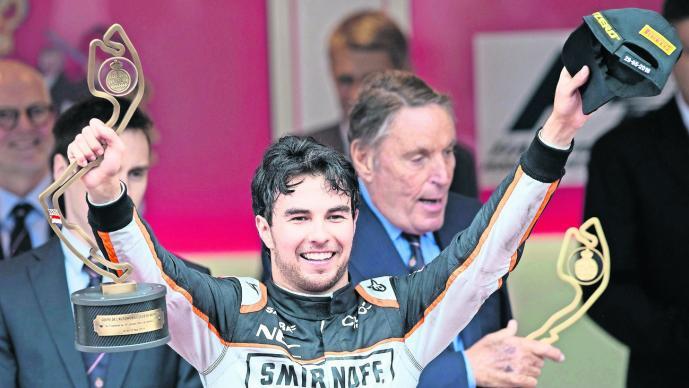 Sergio 'El Checo' Pérez se prepara para el Gran Premio de Mónaco