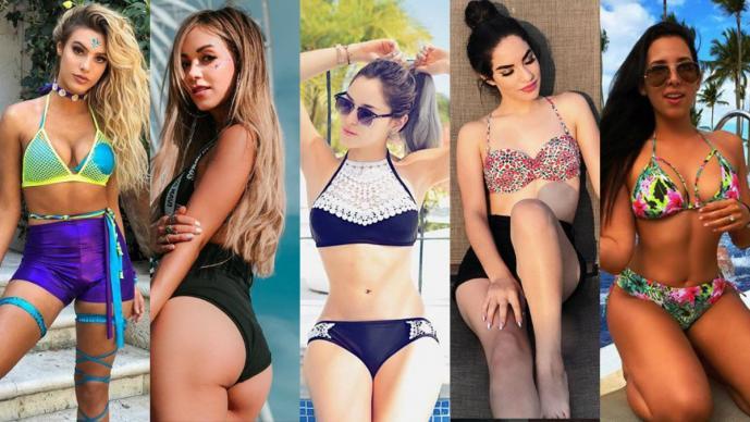 Ellas Son Las Chicas Latinas Más Sensuales De Youtube El