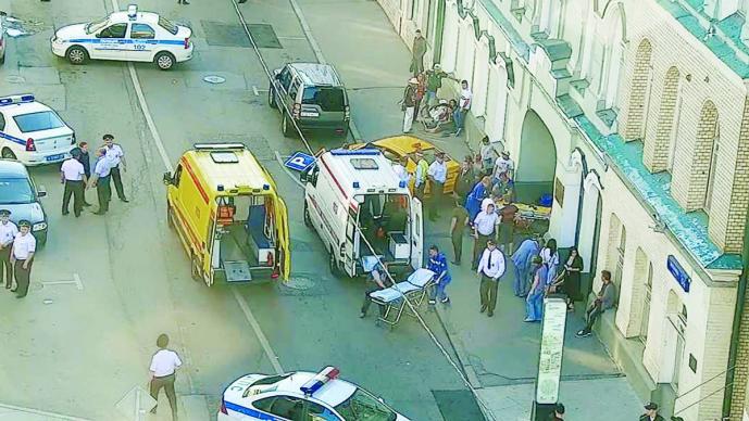 2 meses de prisión al taxista que atropelló a peatones en Moscú