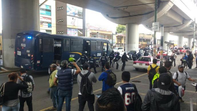 Mueren dos personas en enfrentamiento a balazos en Tláhuac