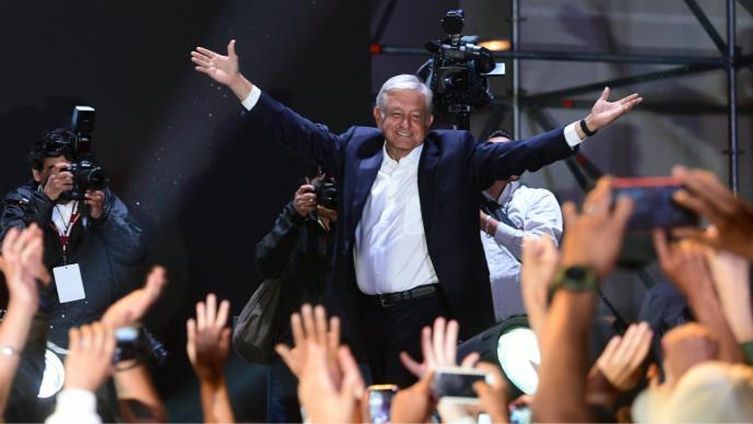 Mandatarios internacionales expresaron su mensaje de congratulación al líder de Morena.