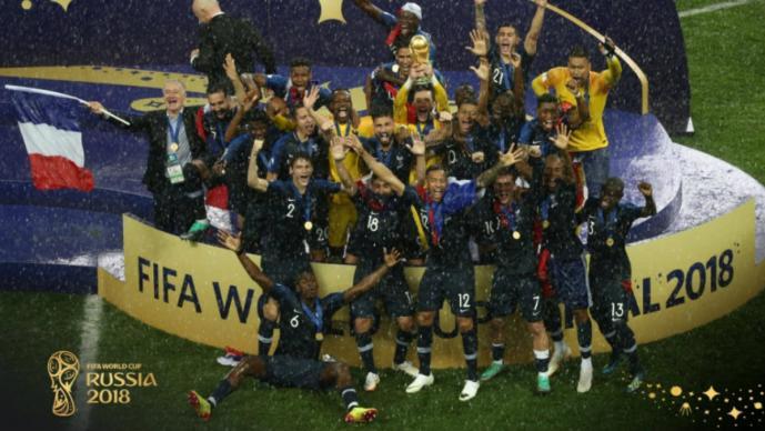 Francia impone su jerarquía y conquista el Mundial de Rusia