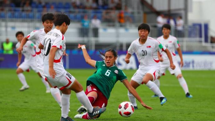 Tri femenil sub 20 inicia con triunfo la copa mundial