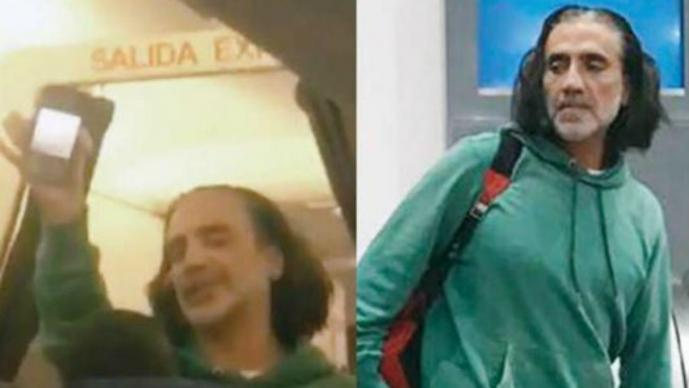 Alejandro Fernández 'borracho' agrede a pasajeros y lo bajan del avión