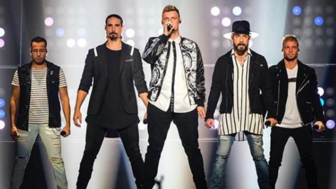 Varios heridos en concierto de los Backstreet Boys