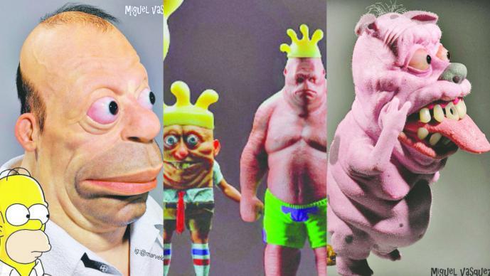 Crean modelo realista de Homero Simpson y el resultado es rarísimo — Fotos