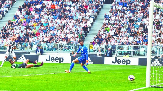 Cristiano Ronaldo ya marca con la Juventus
