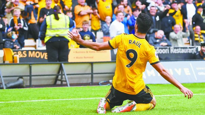 Anota Raúl Jiménez su segundo gol en la Premier League
