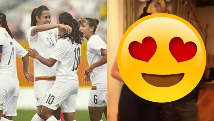 Futbolistas mexicanas Stephany Mayor y Bianca Sierra anuncian compromiso