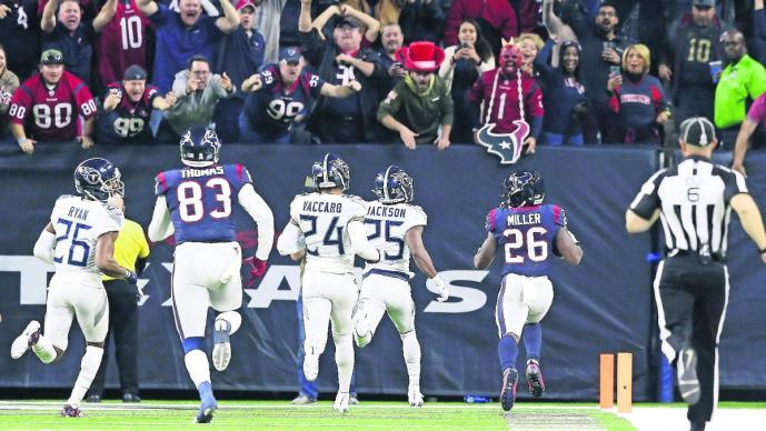 Texans logra su octavo triunfo al hilo