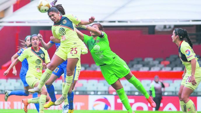 América Femenil empató ante Tigres en la final ida — Ganaba por dos