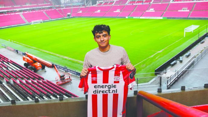 Joven mexicano se une a las filas del PSV Eindhoven
