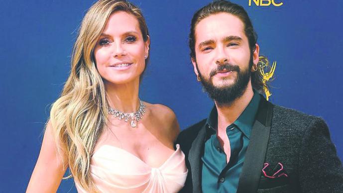 Heidi Klum se comprometió con Tom Kaulitz