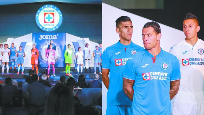 97bcb2d9b Cruz Azul presume su uniforme para el Clausura 2019