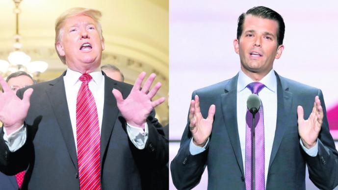 Trump viaja a la frontera con México por el muro