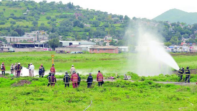 Advierten fallas tomas gas México