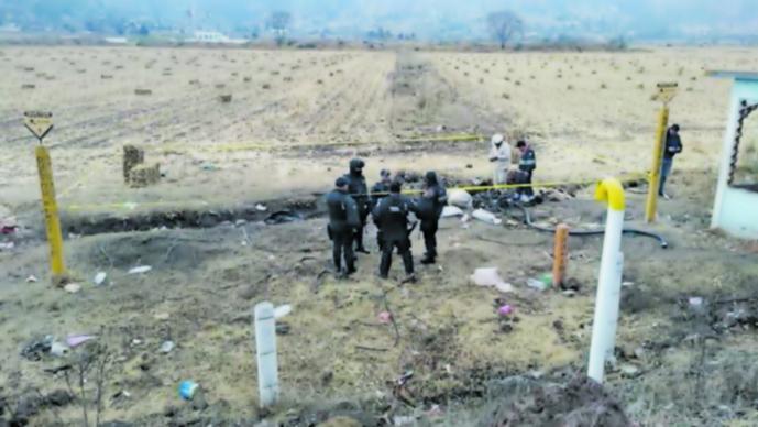 Estado de México cuarto lugar robo combustible