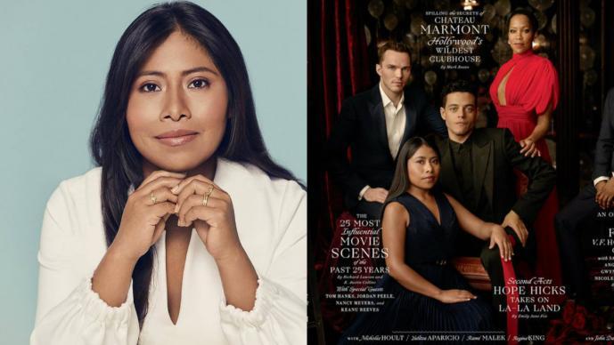 Fotos: Posa Yalitza Aparicio para la portada de Vanity Fair