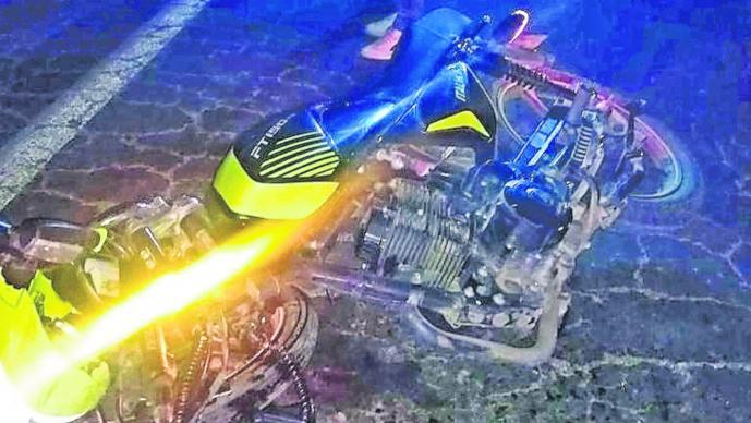 Motociclista Accidente Exceso Velocidad