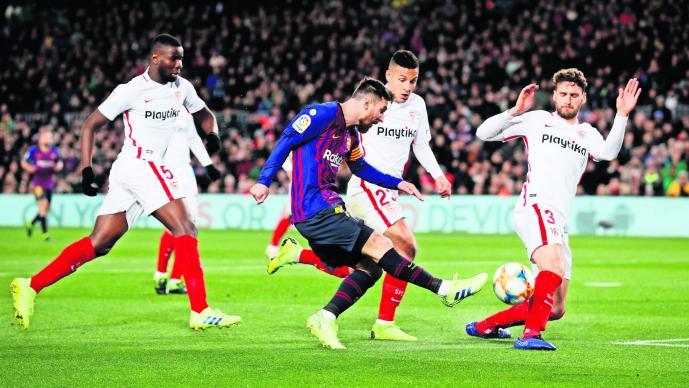Barcelona Sevilla semifinales Copa del Rey