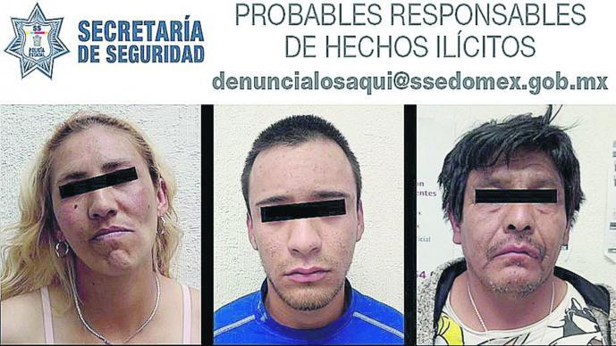 Detienen Extorsionadores Narcomenudeo Chimalhuacán