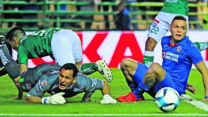 Cruz Azuul León partido marcador Clausura 2019 México