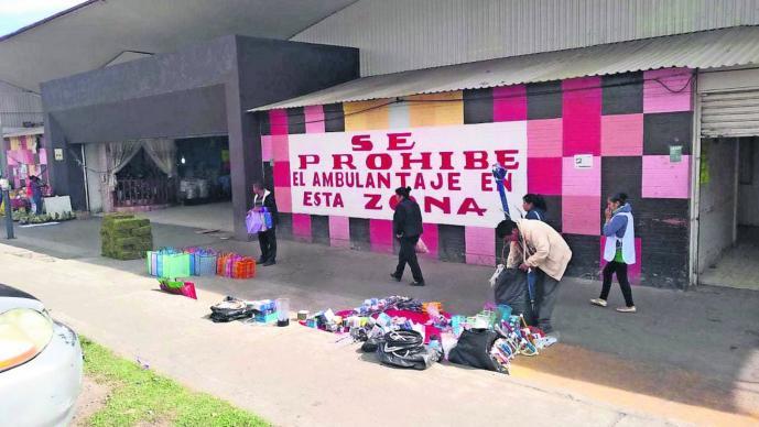 Aumentan Ventas Ambulantes Mercado Toluca