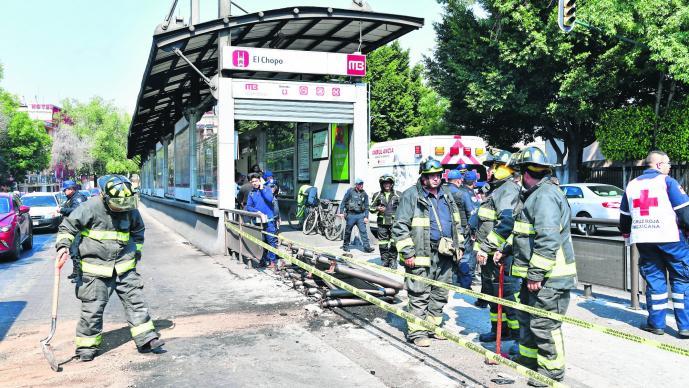 Japonés Choque Metrobús Chopo Herido