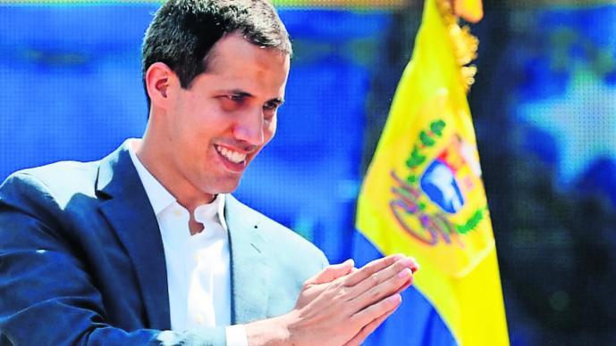 Juan Guaidó Internacional Maduro
