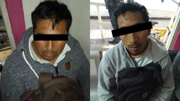 secuestro metro pino suárez asegurados detenidos