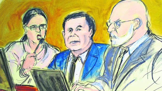 Arrestan amigo El Chapo Guzmán juicio