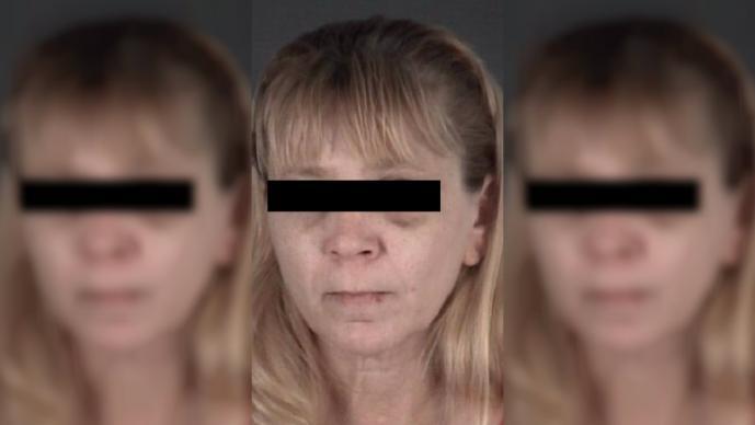 Arrestan mujer golpea novio chuleta cerdo