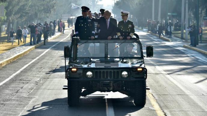 AMLO aniversario conmemoración Fuerza Aérea Mexicana Santa Lucía