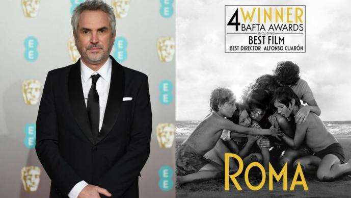 Roma película Alfonso Cuarón premios BAFTA 2019 British Academy Film Awards