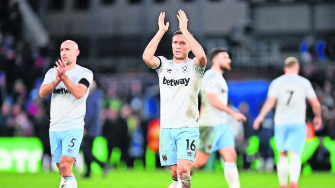 West Ham Crystal Palace juego partido empate Chicharito Liga Premier