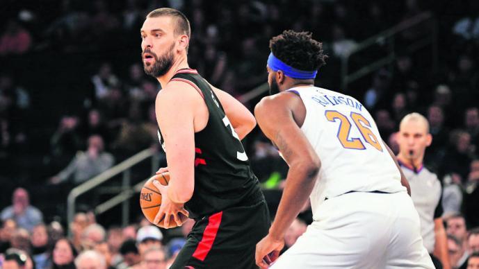 Marc Gasol español basquetbolista NBA equipo contento Raptors