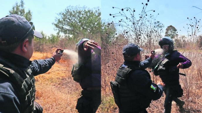 Policía Agresión Reportero Fotógrafo Edomex