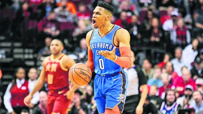 Russell Westbrook NBA Rompe Record