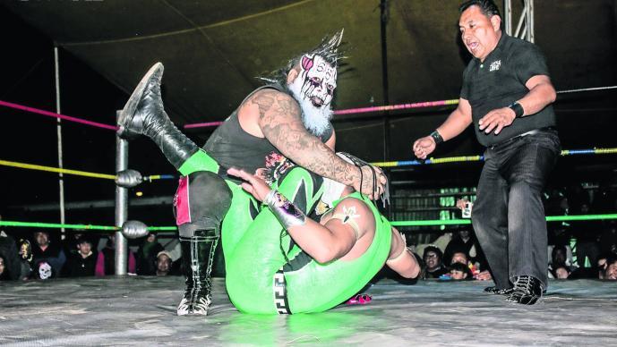 Demus Lucha Libre Virus Venganza CMLL