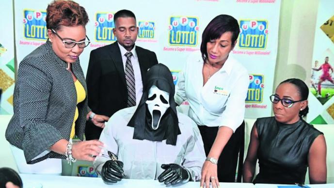 Lotería Premio Millonario Scream Jamaica