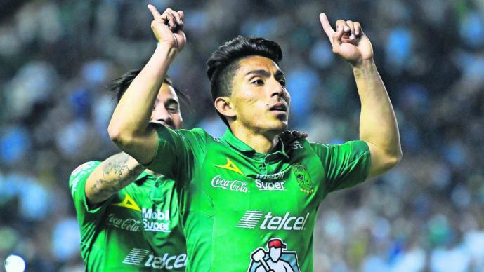 Ángel Mena partido doblete goliza León Toluca marcador Clausura 2019 Liga Mx