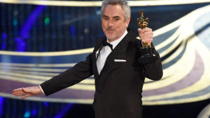Alfonso Cuarón Roma mejor director ganador Oscar 2019