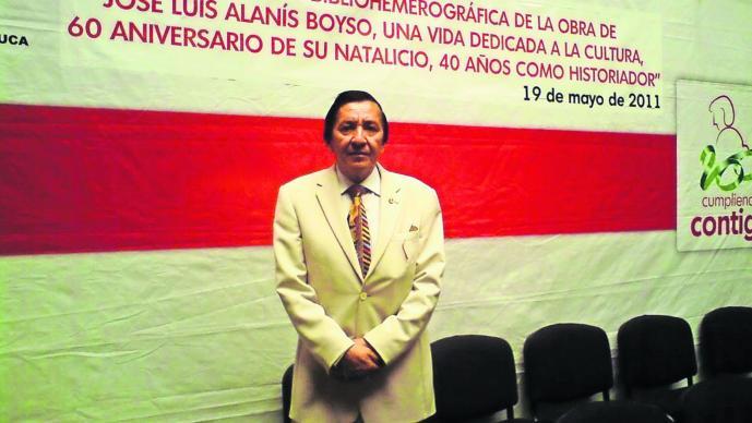 Cronista Alanis Boyso Toluca